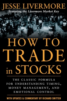 How to Trade In Stocks, Paperback Book