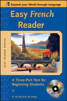 Easy French Reader : A Three-Part Text for Beginning Students, Mixed media product