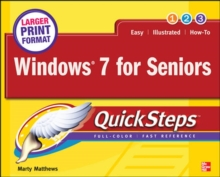 Windows 7 for Seniors QuickSteps, Paperback