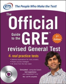 GRE the Official Guide to the Revised General Test, Mixed media product