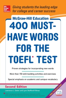 McGraw-Hill Education 400 Must-have Words for the TOEFL, Paperback