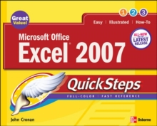 Microsoft Office Excel 2007 QuickSteps, Paperback