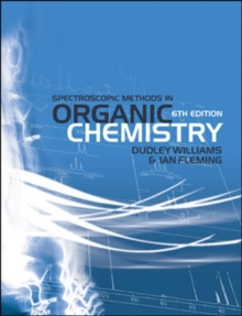 Spectroscopic Methods in Organic Chemistry, Paperback