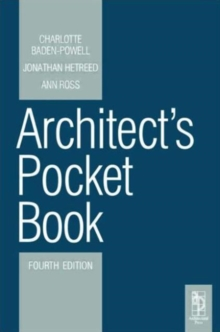 Architect's Pocket Book, Paperback