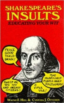 Shakespeare's Insults, Paperback Book