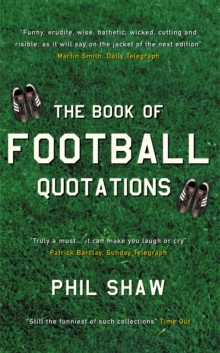 The Book of Football Quotations, Paperback