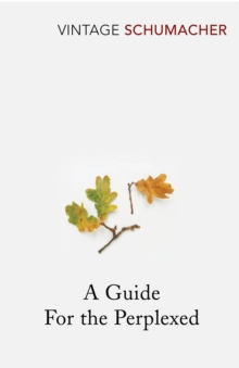 A Guide for the Perplexed, Paperback Book