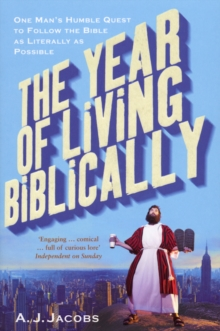 The Year of Living Biblically, Paperback