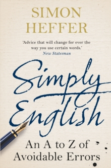 Simply English : An A-Z of Avoidable Errors, Paperback Book