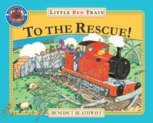 The Little Red Train to the Rescue, Paperback Book