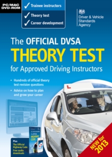 The Official DSA Theory Test for Approved Driving Instructors, DVD-ROM