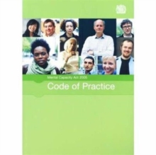 Mental Capacity Act 2005 Code of Practice, Paperback