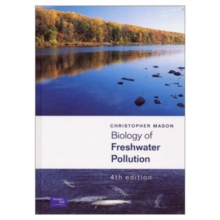 Biology of Freshwater Pollution, Paperback Book