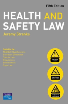 Health and Safety Law, Paperback