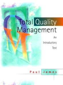 Total Quality Management : An Introductory Text, Paperback Book