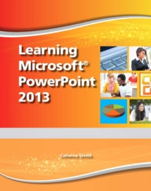 Learning Microsoft PowerPoint 2013 - CTE/School, Mixed media product