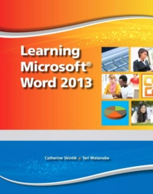 Learning Microsoft Word 2013 - CTE/School, Mixed media product