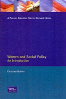 Women and Social Policy : An Introduction, Paperback Book