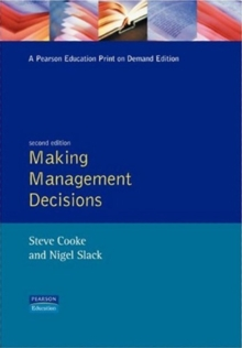 Making Management Decisions, Paperback Book