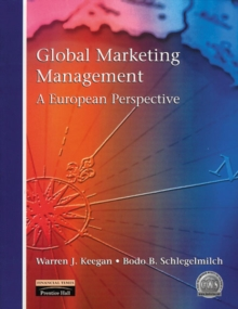 Global Marketing Management : A European Perspective, Paperback Book