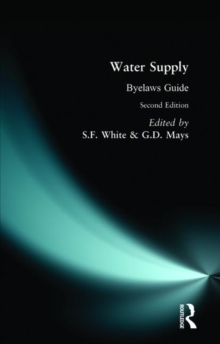 Water Supply Bylaws Guide, Paperback
