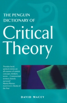 The Penguin Dictionary of Critical Theory, Paperback
