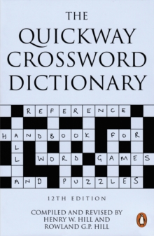 The Quickway Crossword Dictionary, Paperback