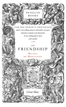 On Friendship, Paperback Book