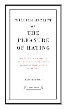On the Pleasure of Hating, Paperback