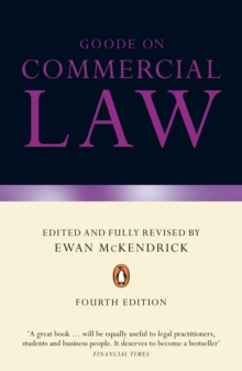 Goode on Commercial Law, Paperback