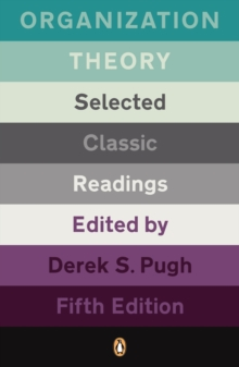 Organizational Theory : Selected Classic Readings, Paperback