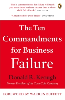 The Ten Commandments for Business Failure, Paperback