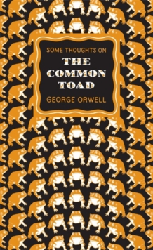 Some Thoughts on the Common Toad, Paperback