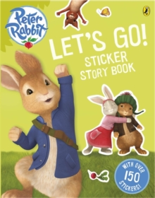 Peter Rabbit Animation: Let's Go! Sticker Story Book, Paperback