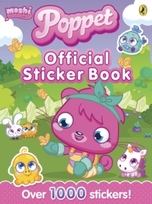 Moshi Monsters: Poppet Official Sticker Book, Paperback