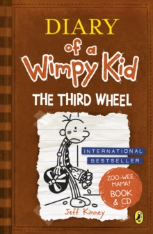 Diary of a Wimpy Kid: The Third Wheel, Mixed media product Book