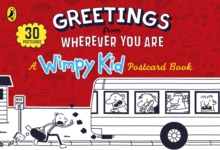 Greetings from Wherever You Are: A Wimpy Kid Postcard Book, Hardback