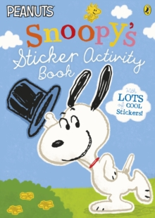 Peanuts: Snoopy's Sticker Activity Book, Paperback Book