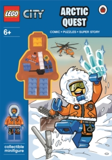 Lego City: Arctic Quest Activity Book With Minifigure, Paperback