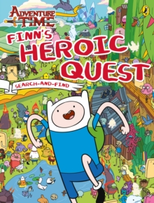 Adventure Time: Finn's Heroic Quest Search-and-Find, Paperback Book