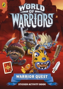 Warrior Quest Sticker Activity Book, Paperback