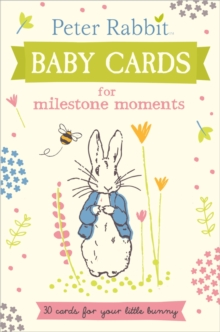 Peter Rabbit Baby Cards: for Milestone Moments, Hardback