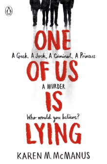 One Of Us Is Lying, Paperback Book