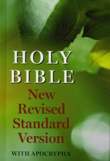 New Revised Standard Version Bible: With Apocrypha, Hardback