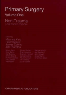 Primary Surgery : Non-Trauma Volume 1, Paperback Book