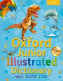 Oxford Junior Illustrated Dictionary, Hardback Book