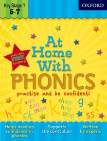 At Home with Phonics, Paperback
