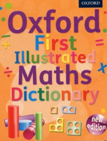 Oxford First Illustrated Maths Dictionary, Mixed media product