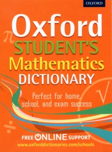 Oxford Students Mathematics Dictionary, Mixed media product