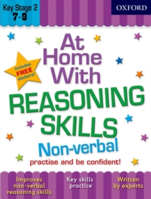 At Home with Non-Verbal Reasoning Skills (7-9), Paperback